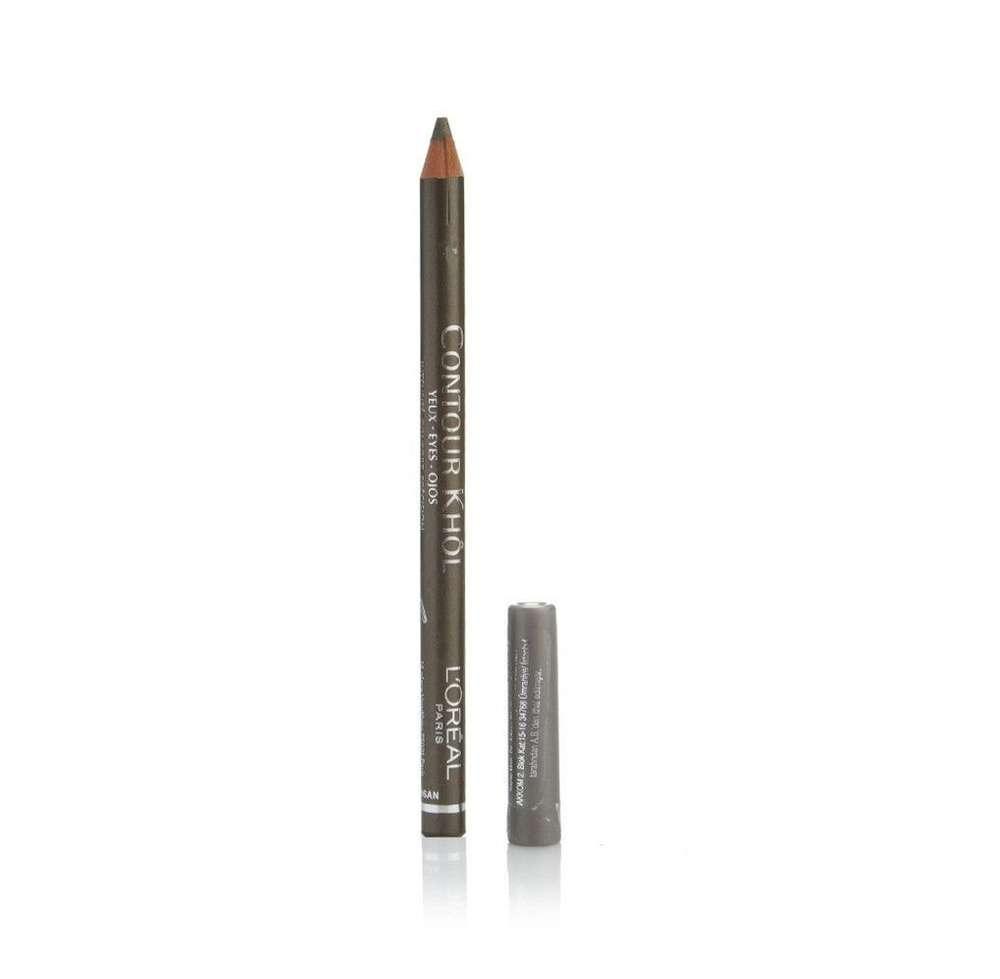 Loreal Contour Khol Eyeliner Pencil 158 Vert Dor Dcp Mayorista Black Optimum