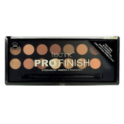 Technic Professional Finish Eyeshadow - Toffee Edition 16 sombras