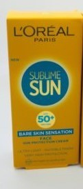 L´ORÈAL SUBLIME SUN SPF 50 ML CREMA FACIAL 50 ML