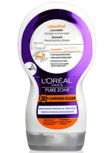 LOREAL CLEANPOD PURE ZONE GEL LIMPIADOR FACIAL 150 ML