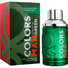 BENETTON COLORS MAN GREEN EAU DE TOILETTE 100 ML VAPORIZADOR